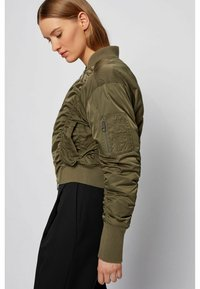 BOSS - Bomber Jacket - khaki - 4