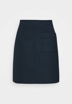 EASY SHAPE - A-line skirt - dark night