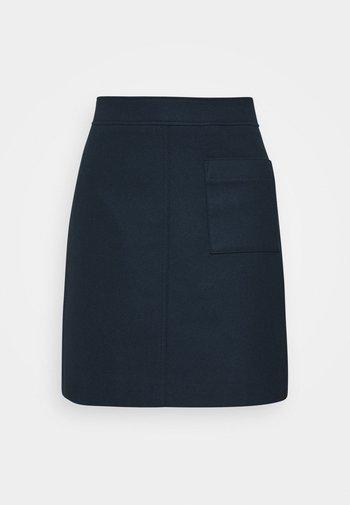 EASY SHAPE - A-line skirt - dark night