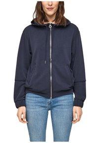 s.Oliver - Zip-up sweatshirt - blue - 3