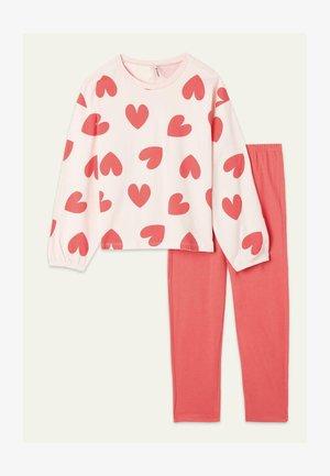 SET - Pyjama set - sweet pink st.cuori