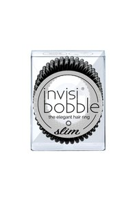 Invisibobble - SLIM HAARGUMMI 2 PACK - Hårstyling-accessories - true black - 1