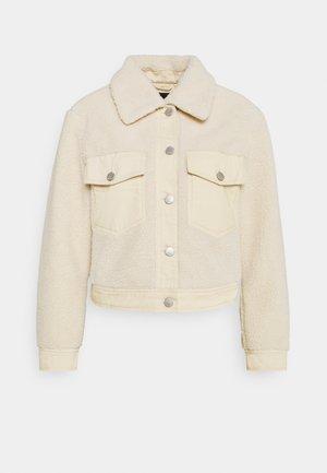 ONLSANDY SHORT JACKET  - Winter jacket - pumice stone