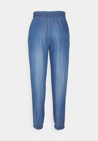 TOM TAILOR DENIM - HAREMS PANTS - Trousers - used light stone blue - 1