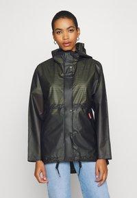 Hunter ORIGINAL - WOMENS ORIGINAL SMOCK - Waterproof jacket - dark olive - 0