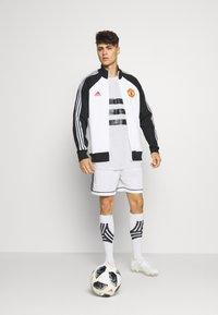 adidas Performance - TEE - Print T-shirt - white - 1