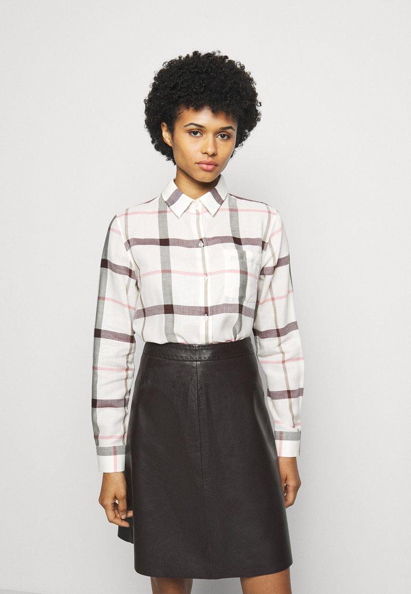 Barbour - WINTER OXER - Button-down blouse - cloud