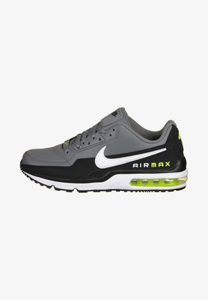 AIR MAX LTD3 - Trainers - black / white / smoke grey / volt