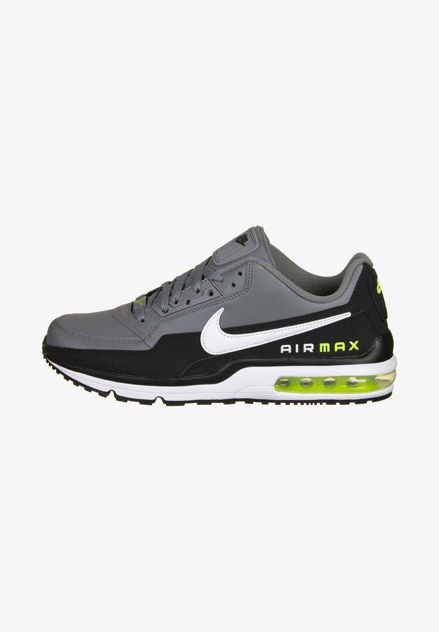 AIR MAX LTD3 - Sneakers - black / white / smoke grey / volt