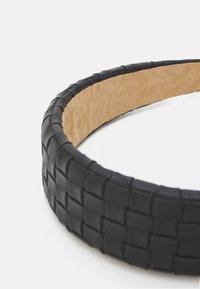 Lindex - ALICE BAND BRAIDED - Accessori capelli - black - 2