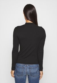 ONLY - ONLSOPHIA FLOUNCE - Long sleeved top - black - 2