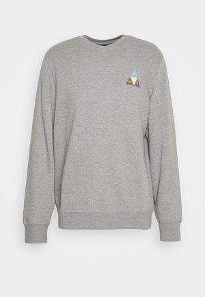 PRISM TRAIL CREWNECK - Sweatshirt - grey heather