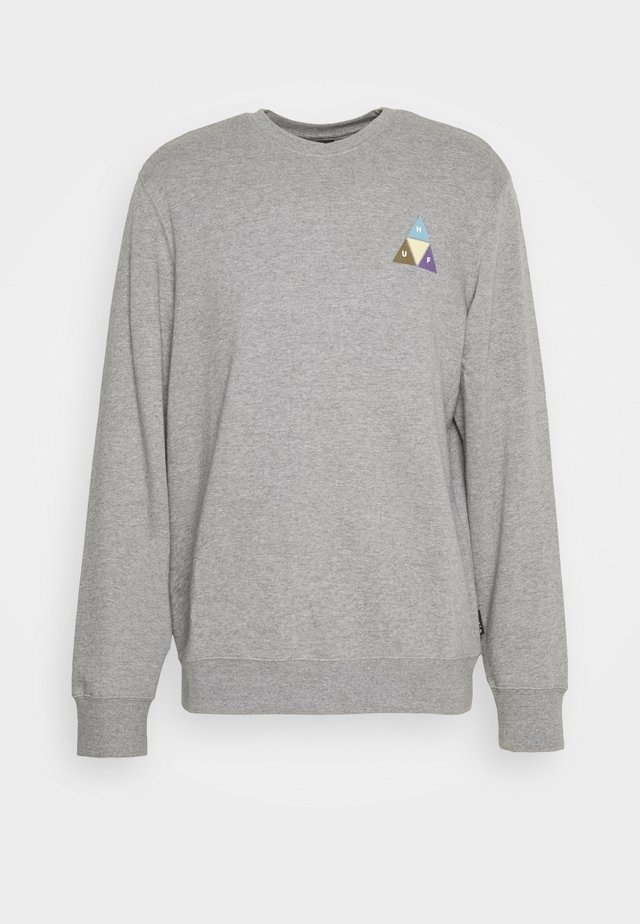 PRISM TRAIL CREWNECK - Collegepaita - grey heather