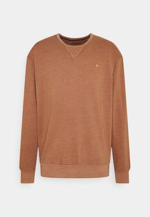 JJEWASHED CREW NECK - Sweatshirt - mocha bisque