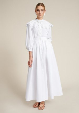 POLARE - Shirt dress - bianco