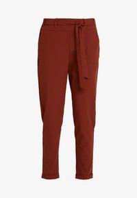 Kaffe - JILLIAN BELT PANT - Trousers - cherry mahogany - 3
