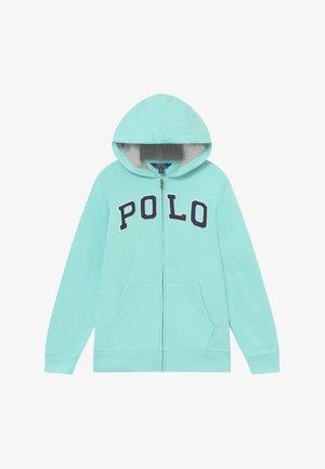 Zip-up hoodie - island aqua