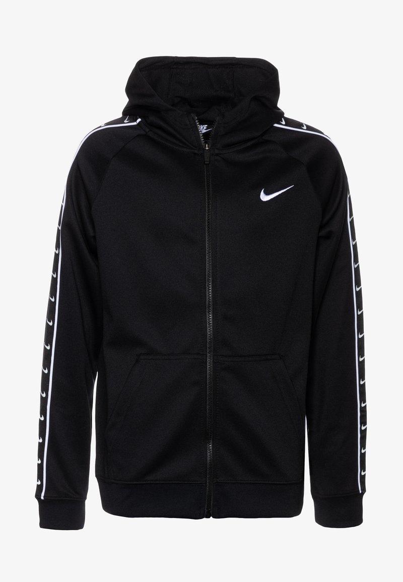 Nike Sportswear - HOODY TAPE - Sweatjacke - black/white