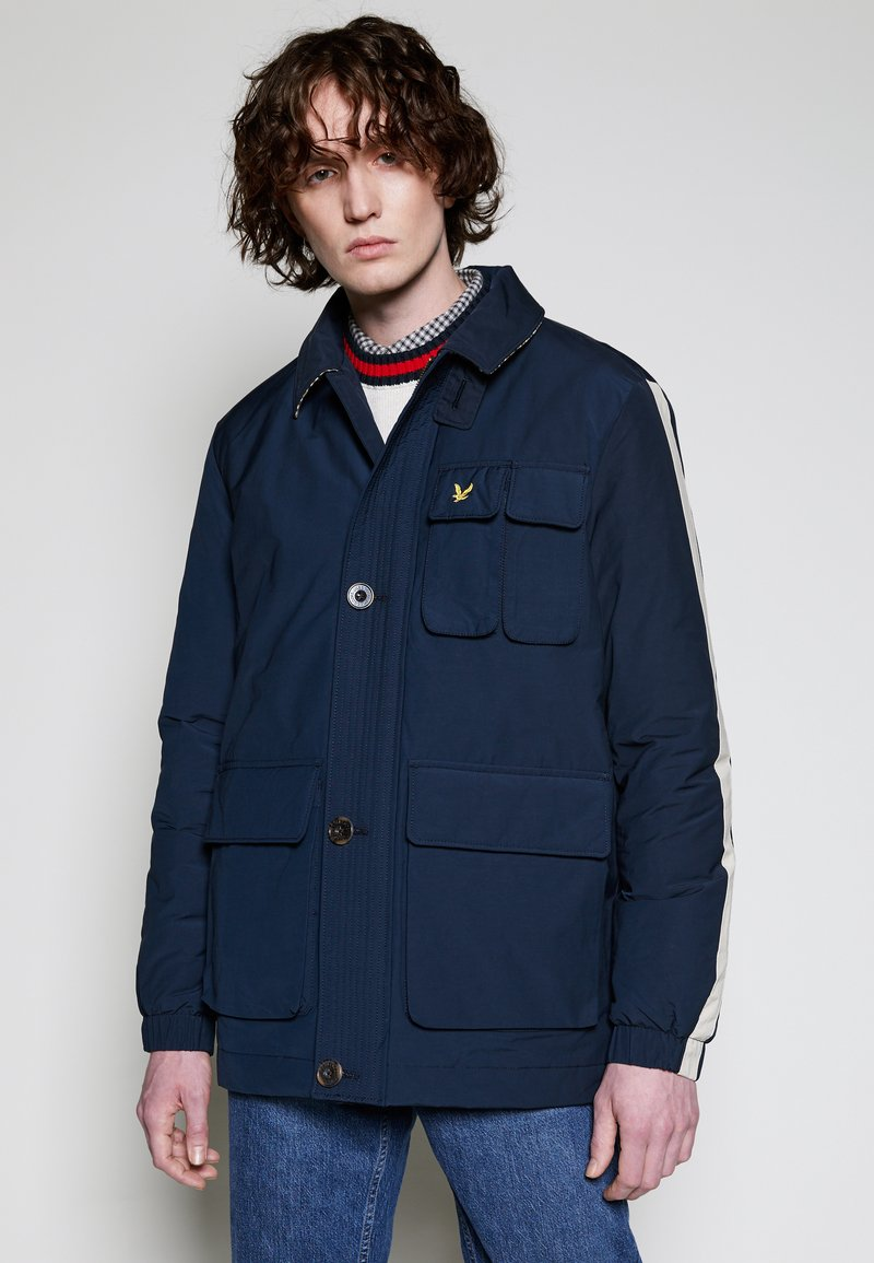 Lyle & Scott - ARCHIVE TWIN POCKET RELAXED FIT - Tunn jacka - dark navy