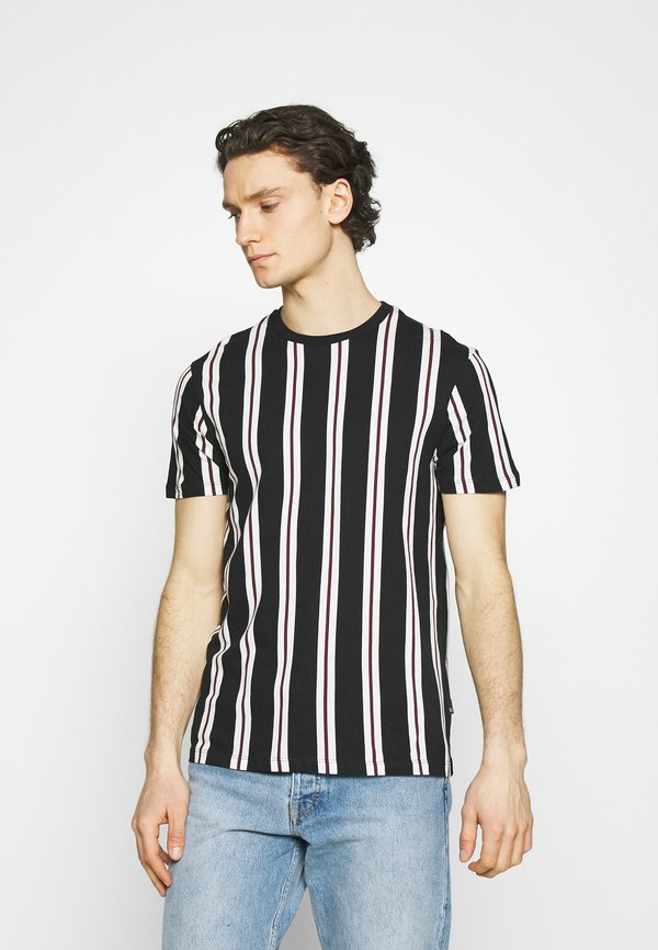 Burton Menswear London 2 PACK - T-shirt z nadrukiem - white/biały Odzież Męska MWON