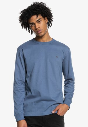 ESSENTIALS - Long sleeved top - blue indigo