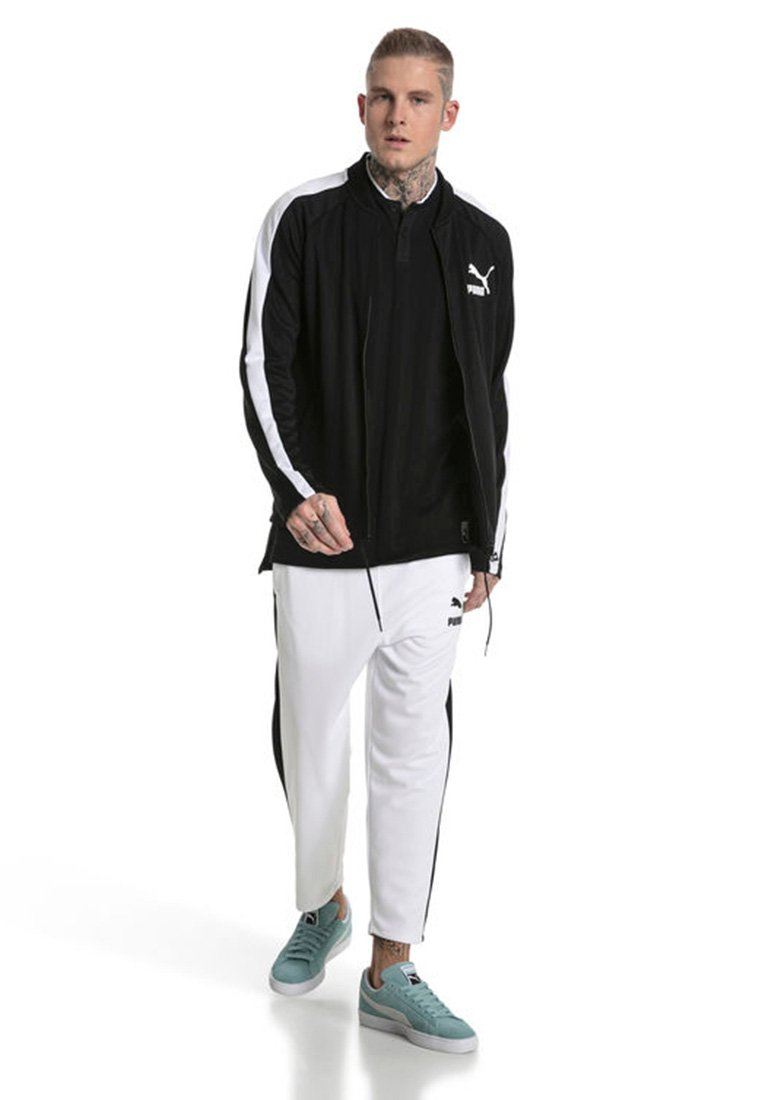 Puma - Tracksuit bottoms -  white