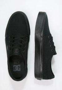 DC Shoes - TRASE - Obuwie deskorolkowe - black - 1