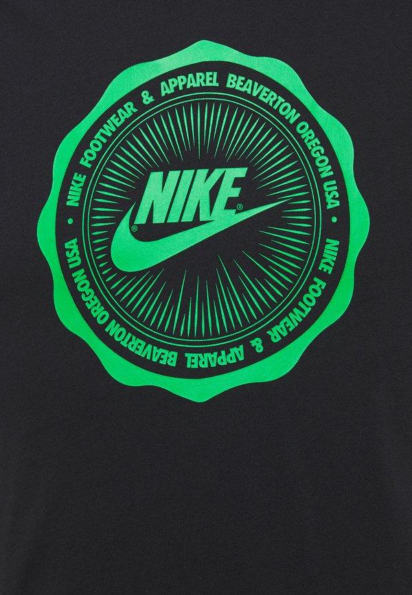 Nike Sportswear M NSW SS TEE BTS FUTURA - T-shirt z nadrukiem - black/czarny Odzież Męska GFSF