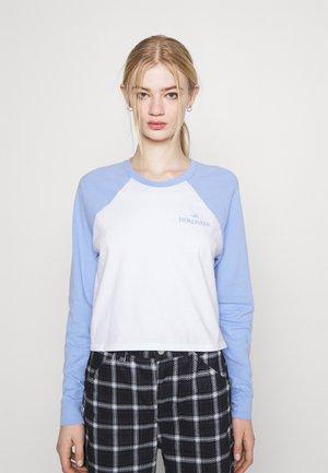 PRINT - Camiseta de manga larga - lav luster blue