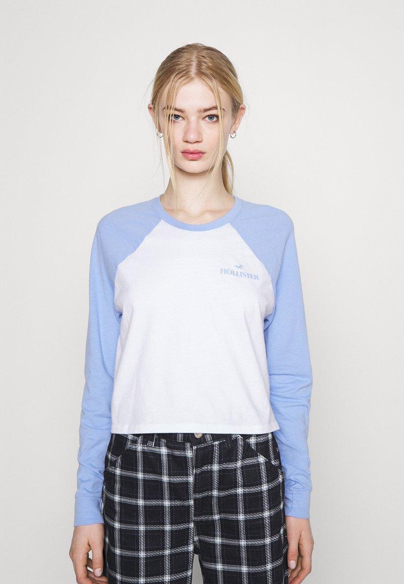 Hollister Co. - PRINT - Long sleeved top - lav luster blue