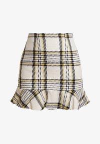 EDITED - EBBA SKIRT - Mini skirt - cream/navy - 3