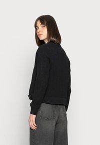 Selected Femme - SLFSINNA CARDIGAN - Cardigan - black - 2