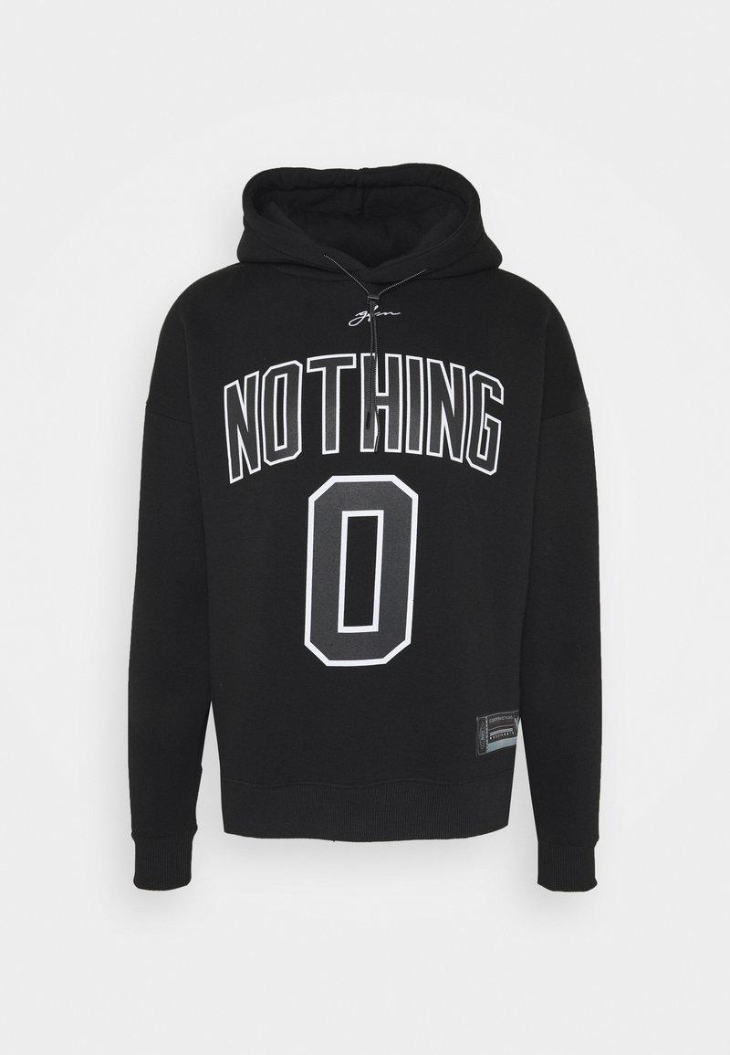 Good For Nothing - OVERSIZED HOOD UNISEX - Hoodie - black