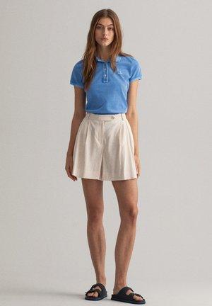 Polo shirt - pacific blue