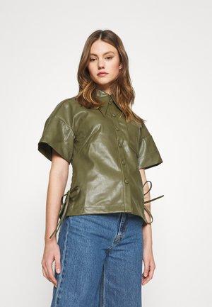 IDOL - Button-down blouse - khaki