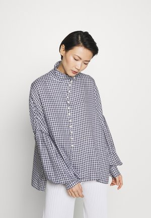 QUINN - Blouse - navy/white