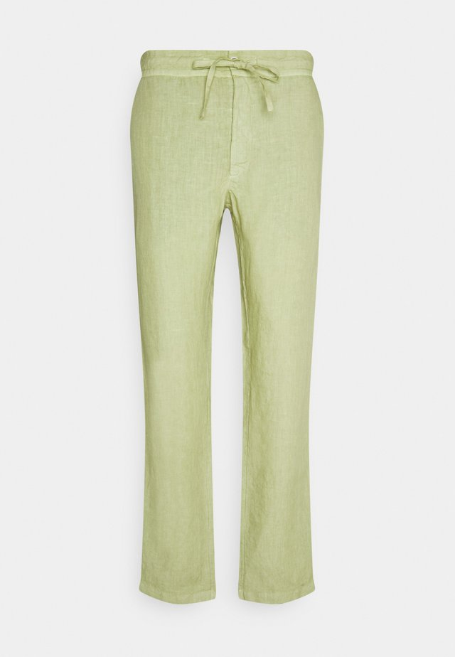 TROUSERS - Tygbyxor - olive