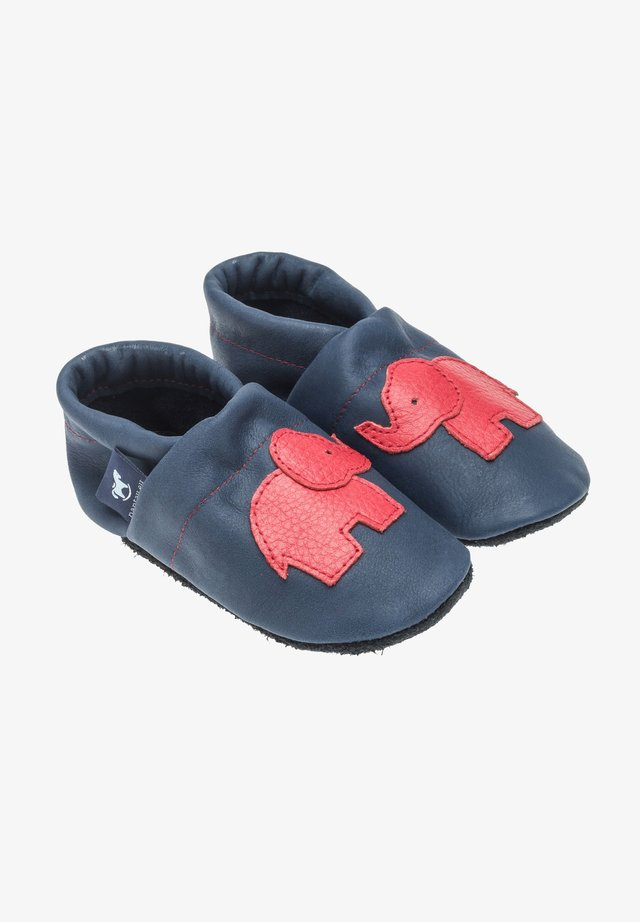 First shoes - blau / rot