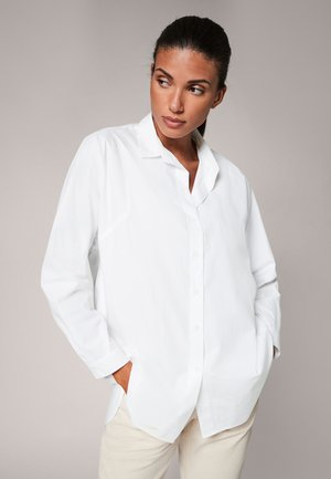 LOCKERE - Button-down blouse - white