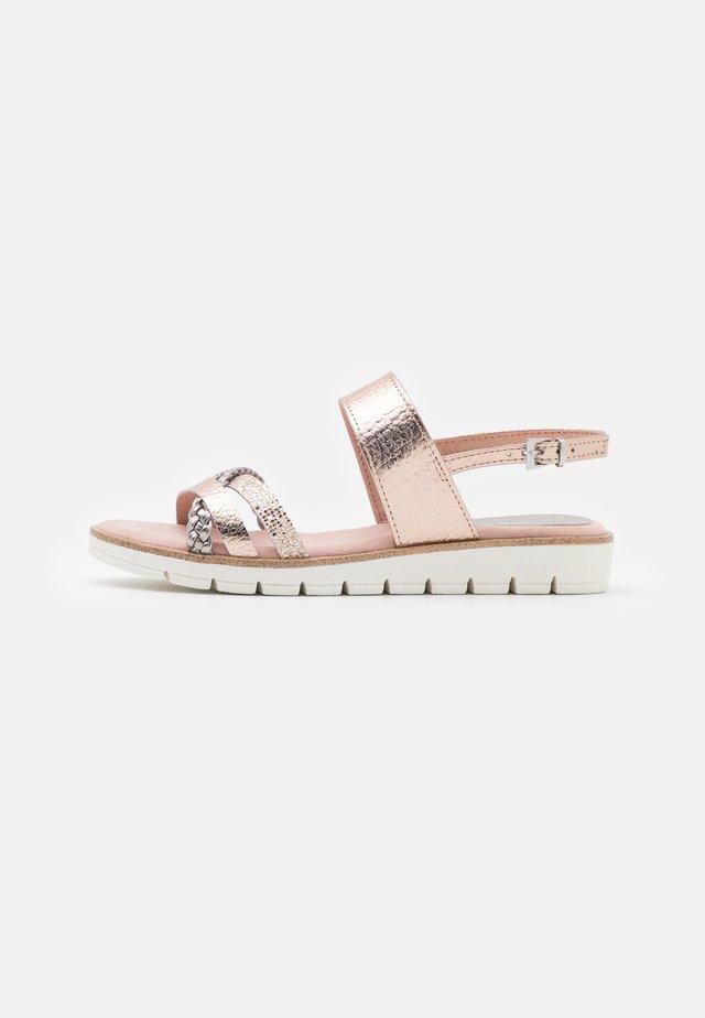 Sandales - rose metallic