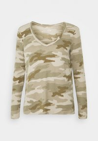 American Eagle - BUTTER PLUSH PRINT  - Long sleeved top - green - 0