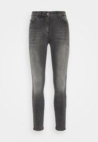 Patrizia Pepe - PANTALONI TROUSERS - Jeans Skinny Fit - washed mid gray - 0
