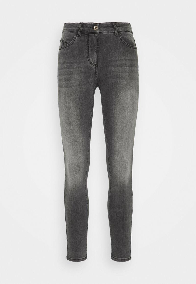 Patrizia Pepe - PANTALONI TROUSERS - Jeans Skinny Fit - washed mid gray