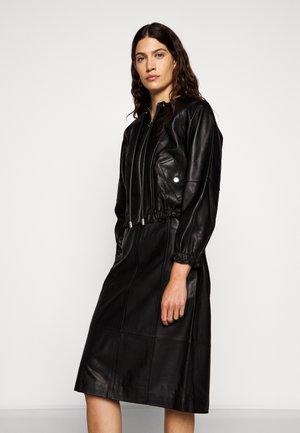 LIGHTWEIGHT JACKET - Kožená bunda - black