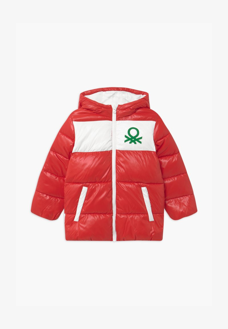 Benetton - Giacca invernale - red
