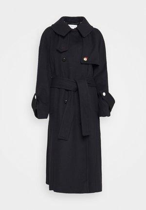 FUNNEL COLLAR  - Classic coat - dark navy