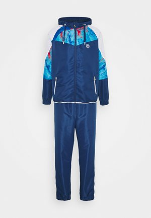 KAFIL TECH TRACKSUIT - Trainingspak - dark blue/aqua