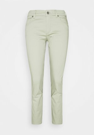 5 POCKET MID WAIST CROP - Spodnie materiałowe - mint