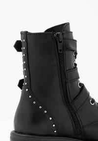 Vingino - MICHELE - Cowboy/biker ankle boot - black - 2
