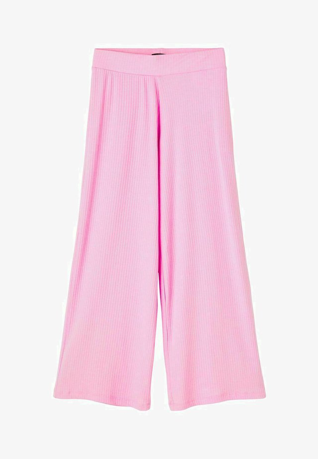 MIT WEITEM BEIN - Trousers - lilac chiffon